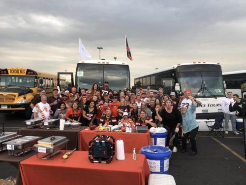 Tailgate Party Group Pic