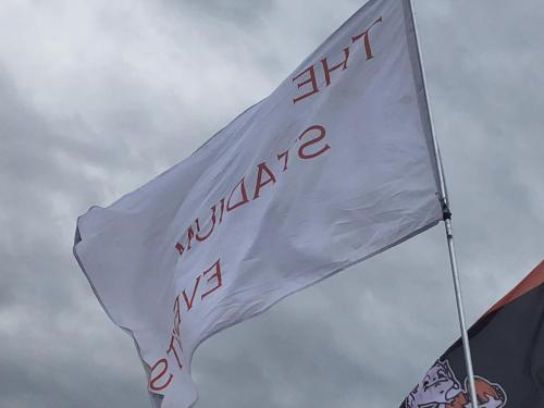 The Stadium Events Flag